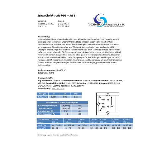 3,0 Kg Zwangslagen Schwei/ßelektroden Stahl RC-3-2,5 x 350 mm E-6013